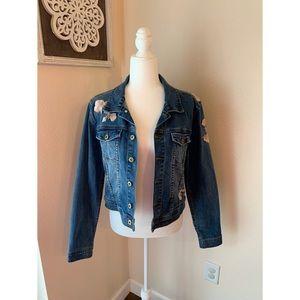 Standard Grace Embroidered Denim Jacket